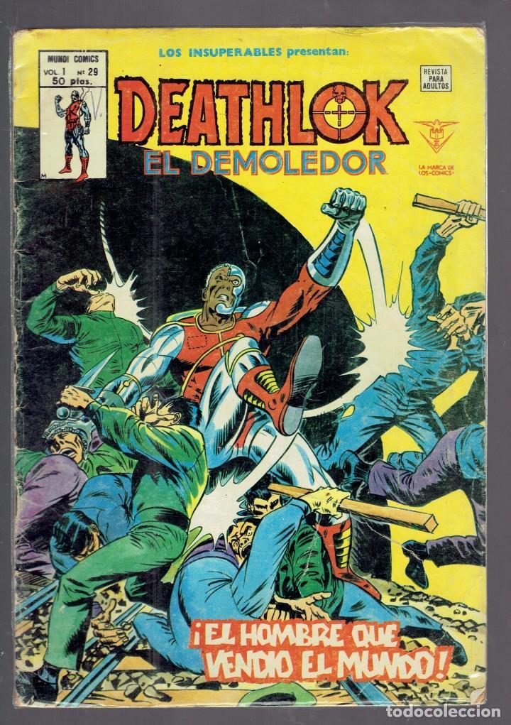 Cómics: A 3 EUROS UNIDAD LOTE DE 33 COMICS DE SUPER HEROES EDICIONES Y COLECCIONES VARIADAS AÑOS 1974-2002 - Foto 14 - 234797370