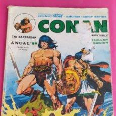 Cómics: CONAN EL BARBARO ANUAL 80 Nº 1. COMICS VERTICE - 70 PAGS.. Lote 234839085