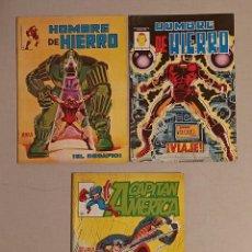 Cómics: CAPITÁN AMÉRICA N°4-8 EL HOMBRE DE HIERRO N°3. Lote 235001275