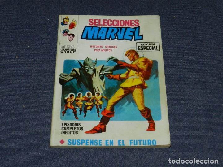(M1) SELECCIONES MARVEL N.1 EDICIONES VERTICE 1970, BUEN ESTADO (Tebeos y Comics - Vértice - Vengadores)