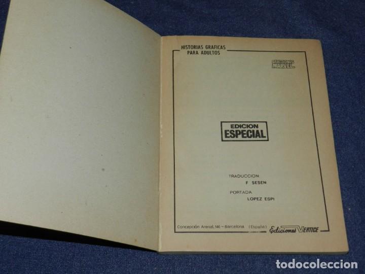 Cómics: (M1) SELECCIONES MARVEL N.1 EDICIONES VERTICE 1970, BUEN ESTADO - Foto 3 - 235063940