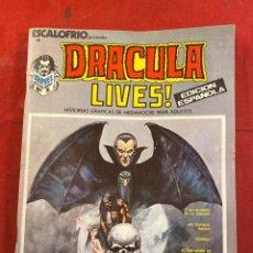 Cómics: DRACULA LIVES!. Lote 235071430