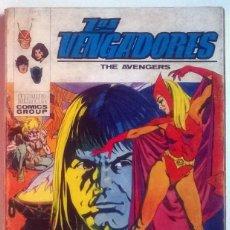 Cómics: LOS VENGADORES- LA BRUJA Y EL GUERRERO VOL. 1, Nº 34 . MARVEL- COMIC TACO - VERTICE 128 PAGINAS. Lote 235228700