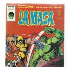 Cómics: LA MASA VOL. 3 NÚMERO 40, 1980, VERTICE, BUEN ESTADO.. Lote 235256630