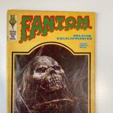 Cómics: FANTOM. RELATOS ESCALOFRIANTES. NO CAVES MI TUMBA. EDICIONES VERTICE. 1973.. Lote 235281315