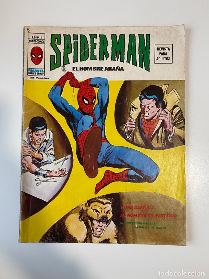 SPIDER-MAN - EL HOMBRE ARAÑA. V-2. Nº 5. MUNDI COMICS. EDICIONES VERTICE (Tebeos y Comics - Vértice - V.2)
