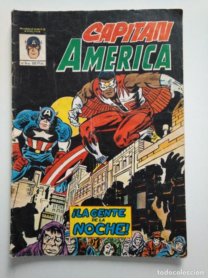 CAPITÁN AMÉRICA N°.5 -82 VERTICE XC (Tebeos y Comics - Vértice - Otros)