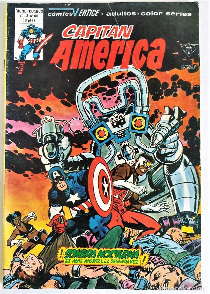 CAPITÁN AMERICA VOL.3 Nº 46 (A COLOR) ~ MARVEL / MUNDI-COMICS (1979) (Tebeos y Comics - Vértice - Capitán América)