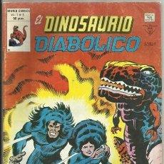 Cómics: EL DINOSAURIO DIABÓLICO, 3: ¡VIAJE AL CENTRO DE LAS HORMIGAS! (JACK KIRBY) - VÉRTICE, 11/1980. Lote 43322632
