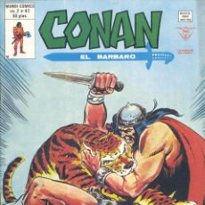Cómics: CONAN Nº42. EDITORIAL VÉRTICE, 1978. BARRY SMITH Y SAL BUSCEMA. Lote 235445635