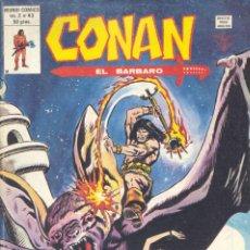 Cómics: CONAN Nº43. EDITORIAL VÉRTICE, 1974. BARRY SMITH, ROY THOMAS Y BUSCEMA. Lote 235448680