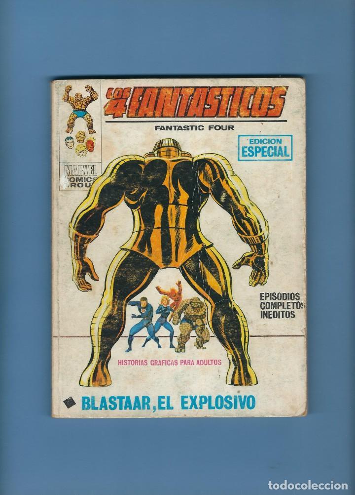 LOS 4 FANTÁSTICOS - BLASTAAR EL EXPLOSIVO - EDICIONES VÉRTICE - NÚM. 31 - FORMATO TACO (Tebeos y Comics - Vértice - 4 Fantásticos)