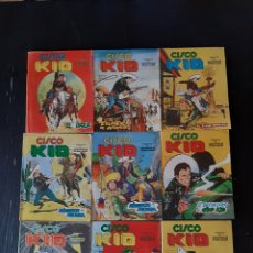 Cómics: CISCO KID COMIC-ART EDICIONES VERTICE DEL N°1 AL 9. Lote 235690150