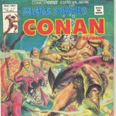 Cómics: CONAN Nº77. EDITORIAL VERTICE, 1979. CON PÁGINAS DE SOLOMON KANE. Lote 235782255