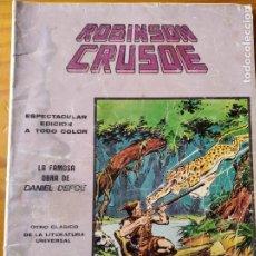 Cómics: ROBINSON CRUSOE - MUNDI COMICS CLASICOS Nº 7. Lote 235833570