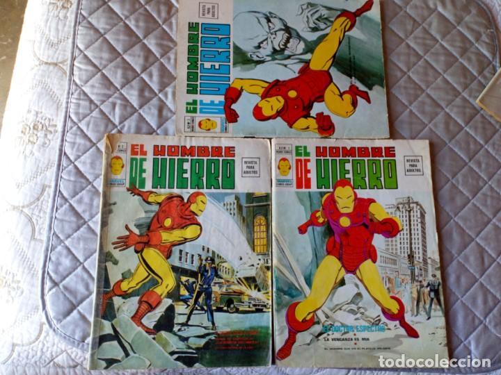 EL HOMBRE DE HIERRO VOL. 2 COMPLETA NÚMEROS 1 AL 5 (Tebeos y Comics - Vértice - Hombre de Hierro)