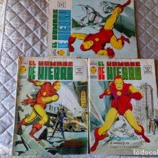 Cómics: EL HOMBRE DE HIERRO VOL. 2 COMPLETA NÚMEROS 1 AL 5. Lote 235996740
