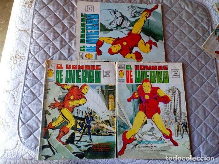 Cómics: El Hombre de Hierro Vol. 2 COMPLETA Números 1 al 5 - Foto 2 - 235996740