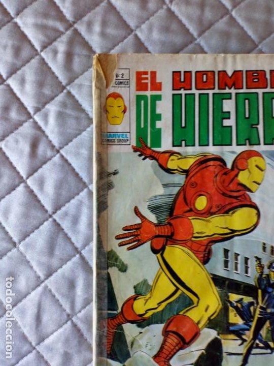 Cómics: El Hombre de Hierro Vol. 2 COMPLETA Números 1 al 5 - Foto 7 - 235996740