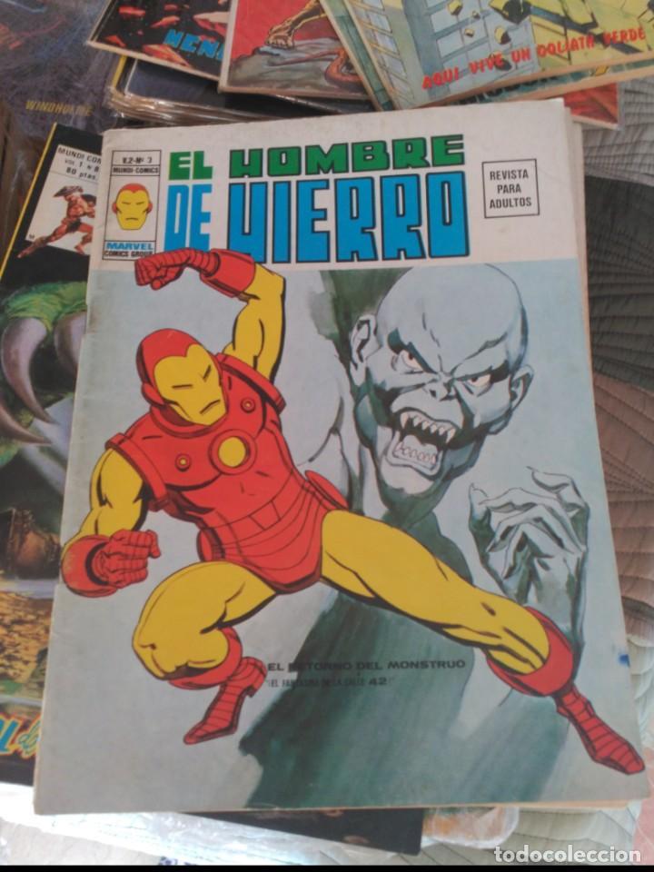 Cómics: El Hombre de Hierro Vol. 2 COMPLETA Números 1 al 5 - Foto 11 - 235996740