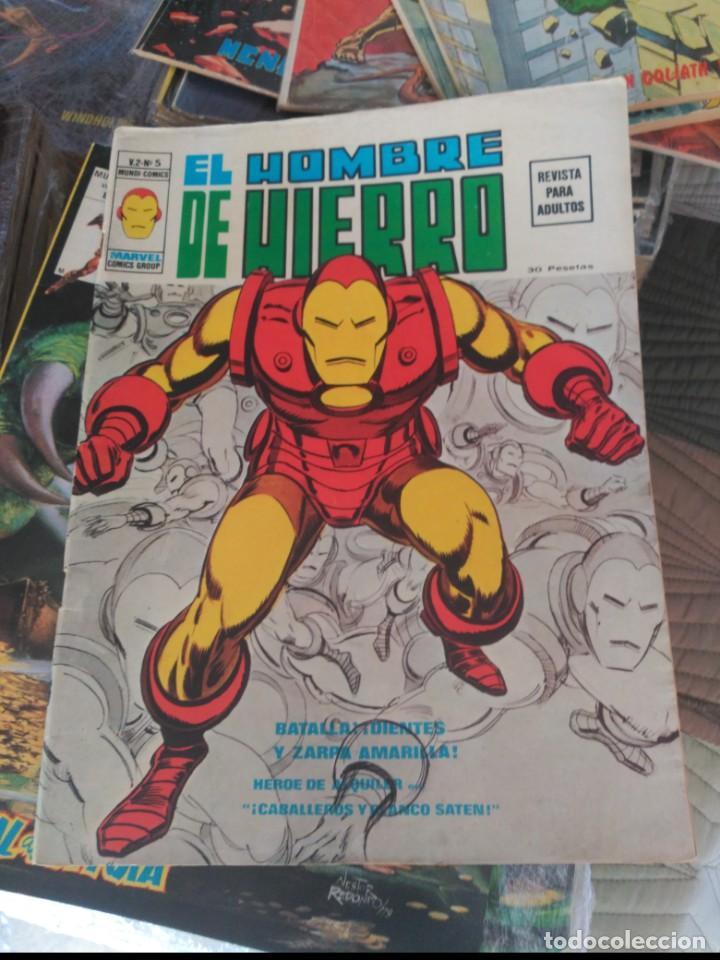 Cómics: El Hombre de Hierro Vol. 2 COMPLETA Números 1 al 5 - Foto 13 - 235996740