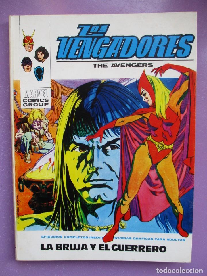 LOS VENGADORES Nº 34 VERTICE TACO ¡¡¡¡¡ BUEN ESTADO!!!! (Tebeos y Comics - Vértice - V.1)