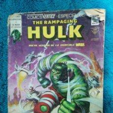 Cómics: RAMPAGING HULK. Lote 236072625