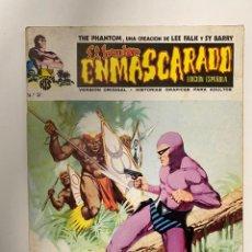 Cómics: EL HOMBRE ENMASCARADO. Nº 2 - EL PASAJERO MISTERIOSO. EDICIONES VERTICE. 1973. Lote 236213040