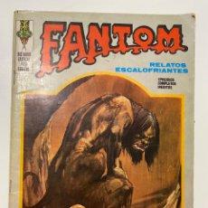 Cómics: FANTOM. RELATOS ESCALOFRIANTES. LA NOVIA DEL MONSTRUO. EDICIONES VERTICE. 1973.. Lote 236221355