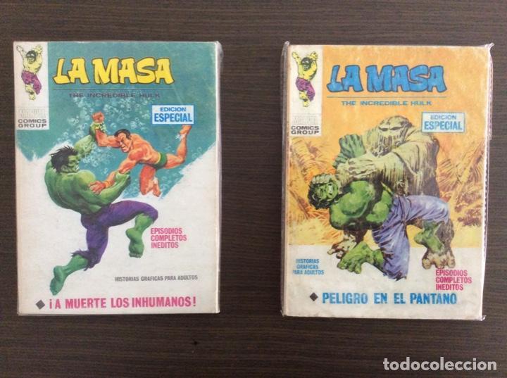 Cómics: LA MASA Colección Completa Volumen 1-2-3 - Foto 6 - 236309705