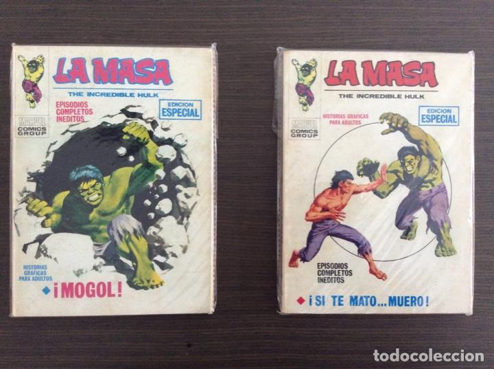 Cómics: LA MASA Colección Completa Volumen 1-2-3 - Foto 8 - 236309705