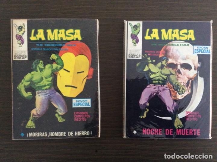 Cómics: LA MASA Colección Completa Volumen 1-2-3 - Foto 9 - 236309705