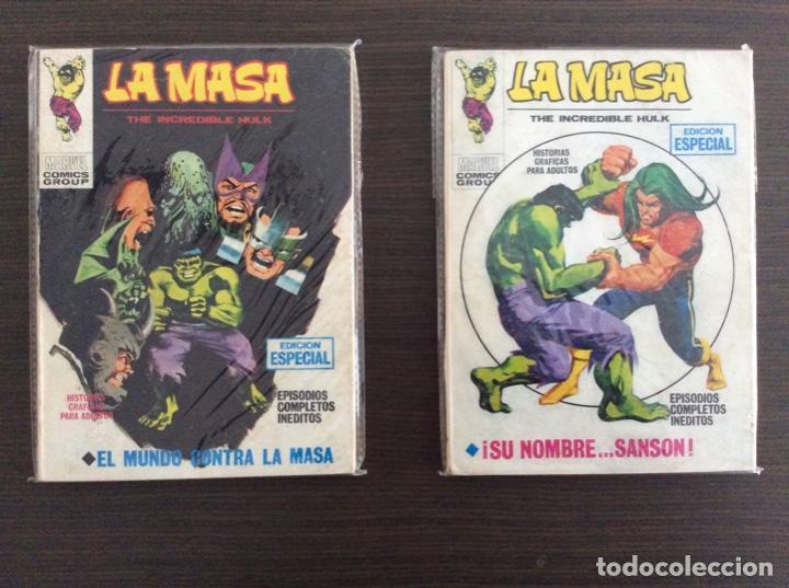 Cómics: LA MASA Colección Completa Volumen 1-2-3 - Foto 11 - 236309705