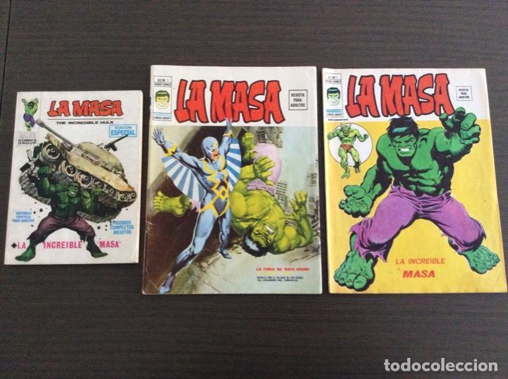 LA MASA COLECCIÓN COMPLETA VOLUMEN 1-2-3 (Tebeos y Comics - Vértice - La Masa)