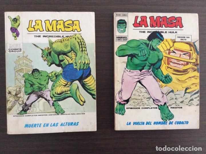 Cómics: LA MASA Colección Completa Volumen 1-2-3 - Foto 19 - 236309705