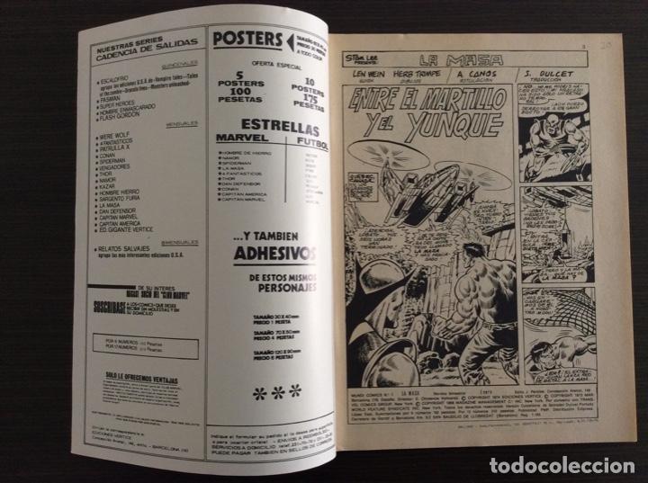 Cómics: LA MASA Colección Completa Volumen 1-2-3 - Foto 44 - 236309705