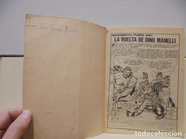 Cómics: EL SARGENTO FURIA Nº 21 LA VUELTA DE DINO MANELLI - VERTICE TACO - Foto 4 - 236391795