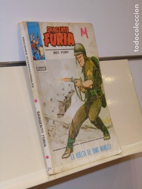 EL SARGENTO FURIA Nº 21 LA VUELTA DE DINO MANELLI - VERTICE TACO (Tebeos y Comics - Vértice - Otros)