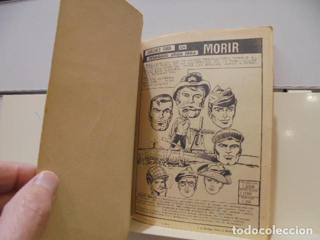 Cómics: EL SARGENTO FURIA Nº 8 MUY JOVEN PARA MORIR - VERTICE TACO - Foto 4 - 236392705