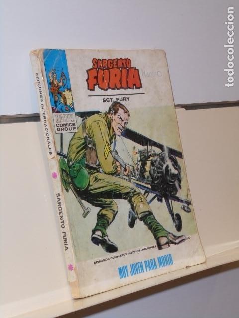 EL SARGENTO FURIA Nº 8 MUY JOVEN PARA MORIR - VERTICE TACO (Tebeos y Comics - Vértice - Otros)