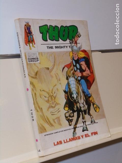 THOR Nº 34 LAS LLAMAS Y EL FIN - VERTICE TACO (Tebeos y Comics - Vértice - Otros)