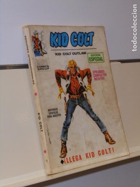 KID COLT Nº 1 LLEGA KID COLT - VERTICE TACO (Tebeos y Comics - Vértice - Otros)
