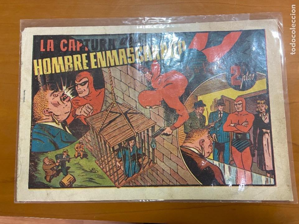 HOMBRE ENMASCARADO Nº 91 94 Y 105 ULTIMO (Tebeos y Comics - Vértice - Hombre Enmascarado)