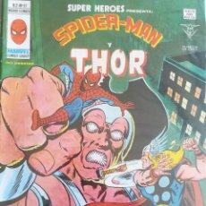 Cómics: SUPER HEROES PRESENTA SPIDER-MAN Y THOR V 2 N 97. Lote 236426545