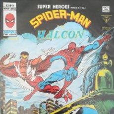 Cómics: SUPER HEROES PRESENTA SPIDER-MAN Y EL HALCON V 2 N 98. Lote 236426685