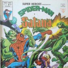Cómics: SUPER HEROES PRESENTA SPIDER-MAN Y Y SATANA V 2 N 108. Lote 236427350