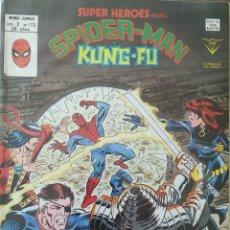 Cómics: SUPER HEROES PRESENTA SPIDER-MAN Y Y KUNG-FU V 2 N 113. Lote 236427730