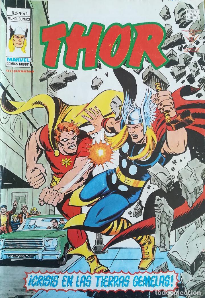THOR MUNDI COMICS V 2 N 42 (Tebeos y Comics - Vértice - Thor)