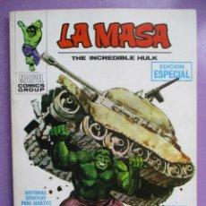Cómics: LA MASA Nº 1 VERTICE TACO ¡¡¡EXCELENTE ESTADO!!!!. Lote 236451475