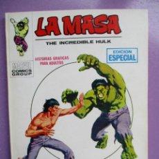 Cómics: LA MASA Nº 13 VERTICE TACO ¡¡EXCELENTE ESTADO!!!!. Lote 236452625